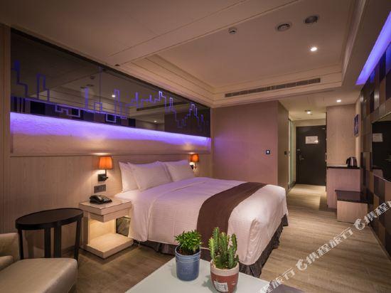台中星動銀河旅站(Moving Star Hotel)喜木客房