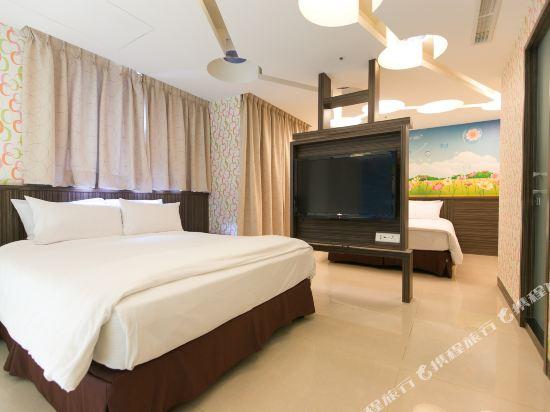 高雄宮賞藝術大飯店(KUNG SHANG DESIGN HOTEL)設計家庭套房