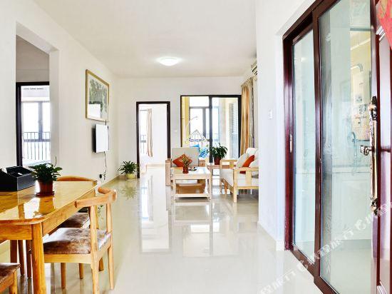 Q加·泰萊童趣主題公寓(珠海橫琴海洋王國店)(Q+ Tailai Tongqu Theme Apartment (Zhuhai Chimelong Ocean Kingdom))園景三房兩廳一衞