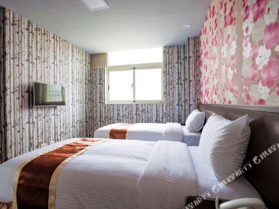 台中撲克商旅(A Ace Hotel)標準雙床房