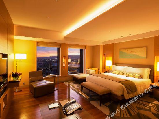 大阪洲際酒店(InterContinental Osaka)俱樂部特大床套房