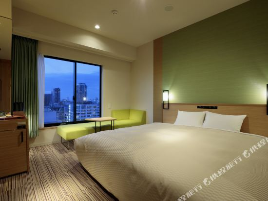 大阪難波光芒酒店(Candeo Hotels Osaka Namba)豪華超大城景房