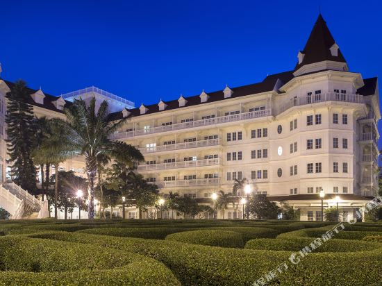 香港迪士尼樂園酒店(Hong Kong Disneyland Hotel)外觀