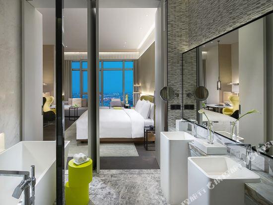 佛山羅浮宮索菲特酒店(Sofitel Foshan)豪華客房現代風格雙床