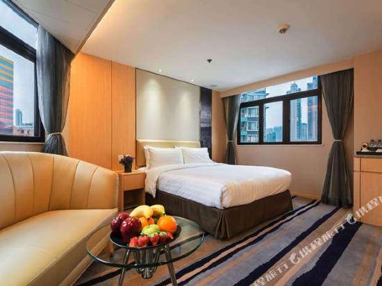 香港旺角維景酒店(Metropark Hotel Mongkok)雅緻豪華家庭房