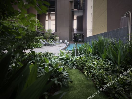 新加坡米閣大酒店(Hotel Mi Singapore)室外游泳池