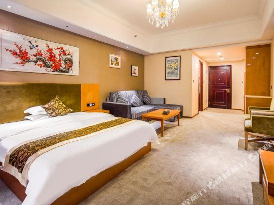 星倫萬達廣場主題公寓(廣州長隆店)(Xinlun Free Hotel International  WanDa)零壓力大床房