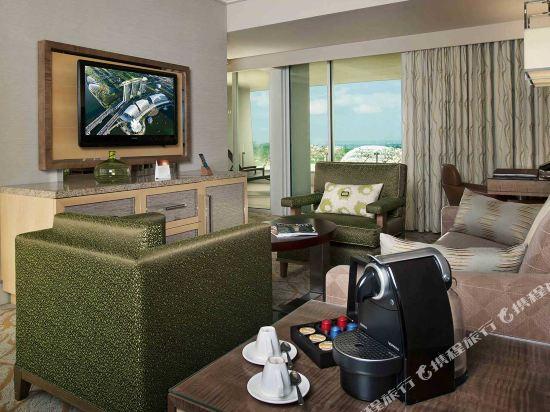 新加坡濱海灣金沙酒店(Marina Bay Sands)市景姬花套房