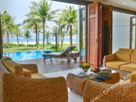 峴港富麗華別墅酒店(Furama Villas Danang)三卧室海洋別墅