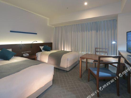 東京灣有明華盛頓酒店(Tokyo Bay Ariake Washington Hotel)高層高級雙床房
