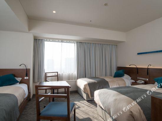 東京灣有明華盛頓酒店(Tokyo Bay Ariake Washington Hotel)高層高級三人房