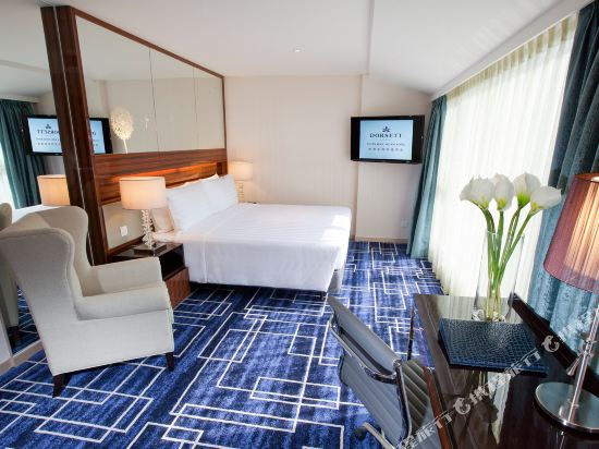 香港荃灣帝盛酒店(Dorsett Tsuen Wan)行政特大號雙人床客房