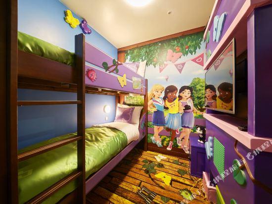 日本樂高樂園酒店(Legoland Japan Hotel)朋友主題房