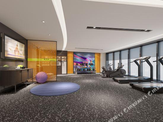 中山南朗希爾頓歡朋酒店(Hampton by Hilton Zhongshan Nanlang)健身房