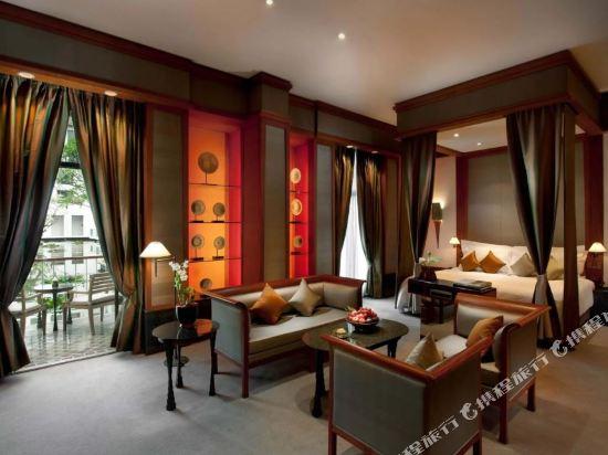 曼谷素可泰酒店(The Sukhothai Bangkok)花園套房
