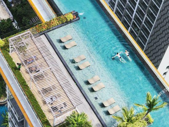 阿縵芭提雅天空之城公寓式酒店(Among Riviera City of Sky Pattaya)健身娛樂設施