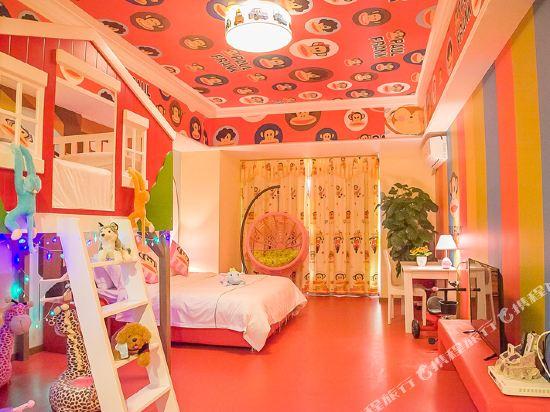 夢幻樂園親子主題公寓(廣州萬達廣場店)(Dreamland Family Theme Apartment (Guangzhou Wanda Plaza))王子主題親子雙床房