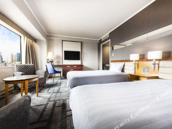 大阪阪神酒店(Hotel Hanshin Osaka)高級雙床房