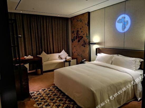 美豪麗致酒店(深圳東門老街地鐵站店)(Mehood Lestie Hotel (Shenzhen Dongmen Pedestrian Street Metro Station))麗致精品大床房(無窗)