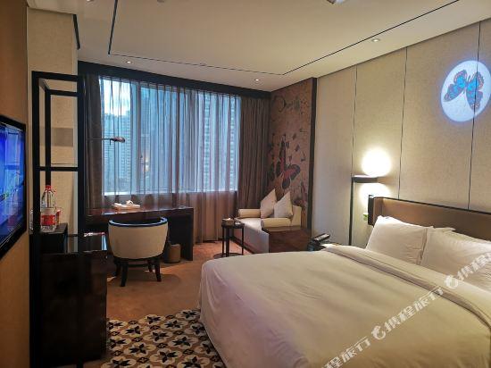 美豪麗致酒店(深圳東門老街地鐵站店)(Mehood Lestie Hotel (Shenzhen Dongmen Pedestrian Street Metro Station))麗致優雅大床房