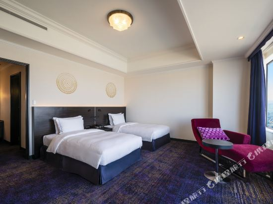 福岡海鷹希爾頓酒店(Hilton Fukuoka Sea Hawk)行政雙床套房