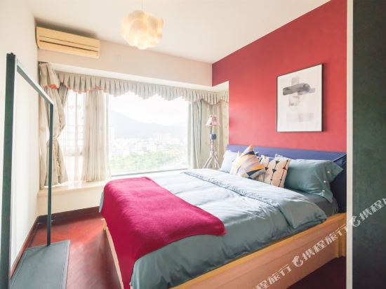 富米國際公寓(珠海華髮商都店)(Fumi Apartment Hotel (Zhuhai Huafa Mall))簡筆三房