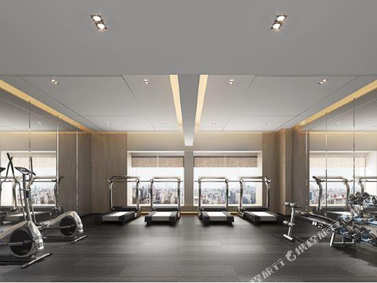 佛山順德美的總部華軒裏酒店(H'ELite Hotel)健身房