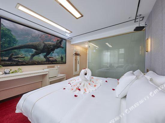 廣州威尼斯特酒店(Wei Ni Si Te Hotel)私享3D影院大床房