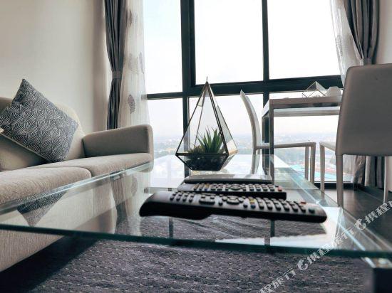 芭堤雅友客酒店式公寓 Pattaya Posh店(Youker Hostel Pattaya Posh)海景一居室套房