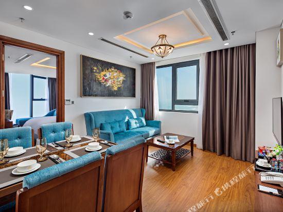 峴港海灘巴利斯德利酒店(Paris Deli Danang Beach Hotel)海景公寓