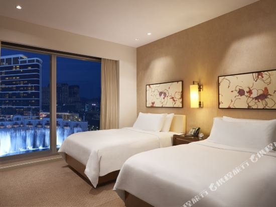 澳門君悅酒店(Grand Hyatt Macau)君悅動感噴泉景套房
