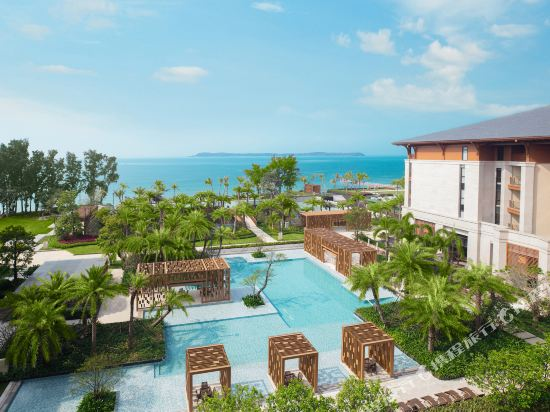 深圳佳兆業萬豪酒店(Shenzhen Marriott Hotel Golden Bay)外觀
