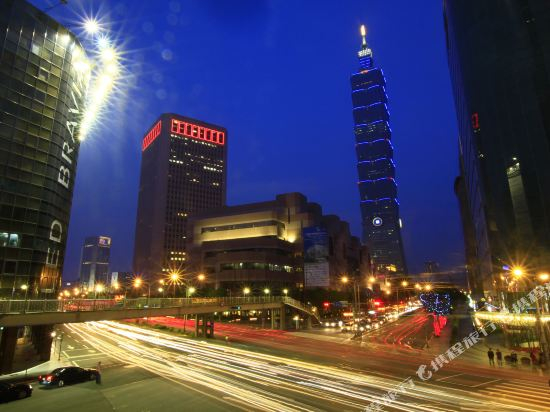 台北怡亨酒店(Hotel éclat)眺望遠景