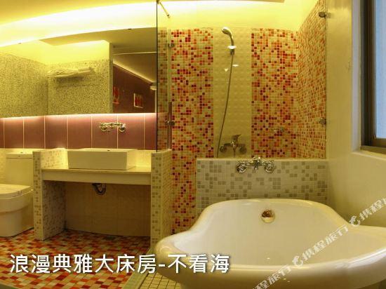 墾丁南灣度假飯店(Kenting Nanwan Resorts)浪漫典雅大床房