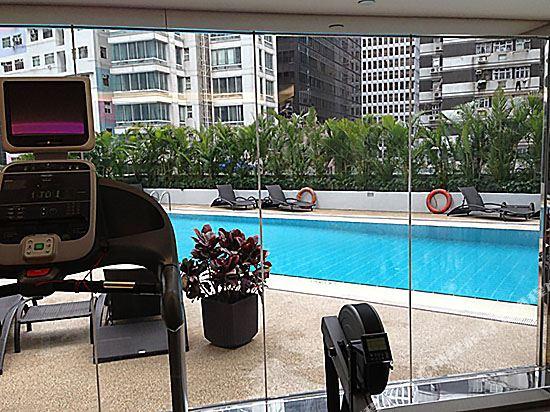 香港諾富特世紀酒店(Novotel Century Hong Kong)健身房
