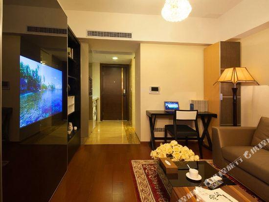 廣州臨江上品維福頓公寓(琶洲會展中心店)(Linjiang Shangpin Weifudun Apartment (Pazhou Complex))特價大床房