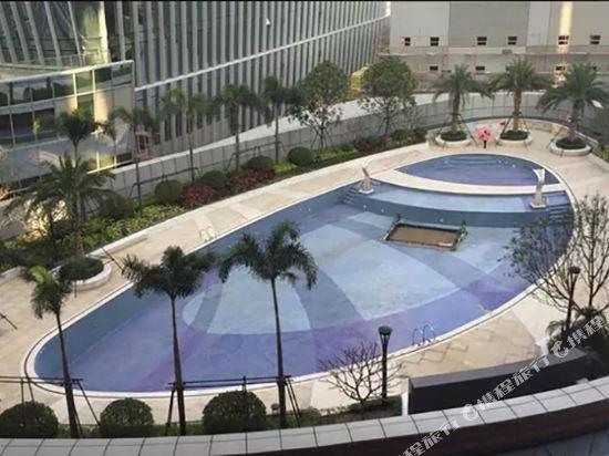深圳濱河時代亞朵S酒店(Atour S Hotel)室外游泳池