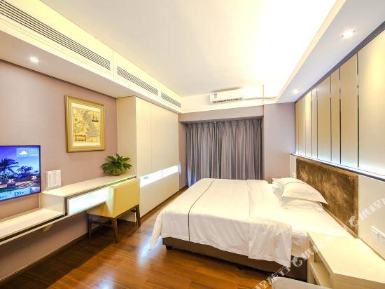 佰合精選國際度假公寓(北京路方圓時光店)(Baihe Selected International Holiday Apartment (Beijing Road Fangyuan Shiguang))城景豪華大床房