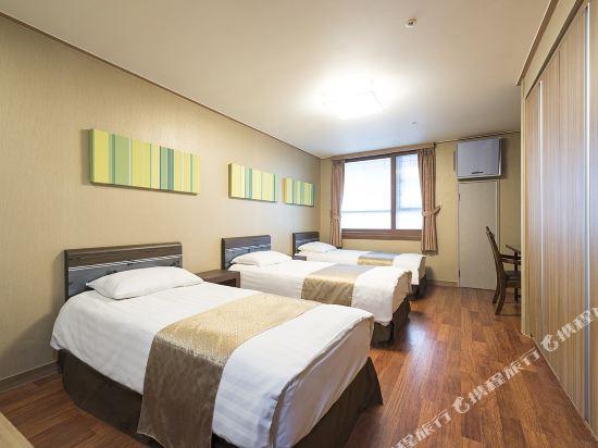 東大門西方高爺公寓酒店(Western Coop Hotel & Residence Dongdaemun)豪華房