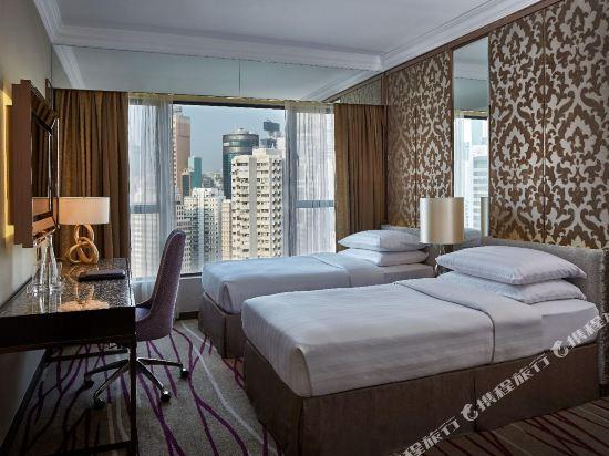 香港灣仔帝盛酒店(Dorsett Wanchai)尊貴豪華城景客房