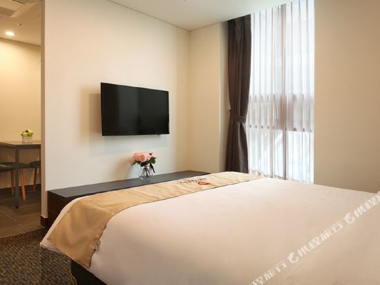 空中花園東大門金斯敦酒店(Hotel Skypark Kingstown Dongdaemun)大床公寓