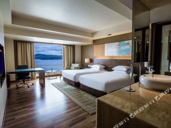 京那巴魯凱悅酒店(Hyatt Regency Kinabalu)海景房