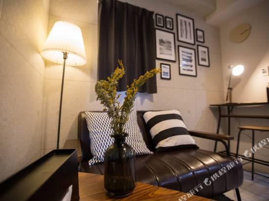 大阪川House花園町現代主題公寓