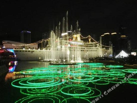 美豪酒店(深圳羅湖大劇院萬象城店)(Mehood Theater Hotel (Shenzhen Luohu Grand Theater The MIXC))商務大床房