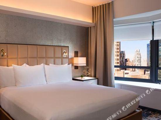 紐約市中心希爾頓酒店(New York Hilton Midtown)康萊德希爾頓套房