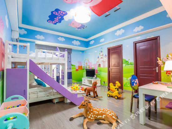 夢幻樂園親子主題公寓(廣州萬達廣場店)(Dreamland Family Theme Apartment (Guangzhou Wanda Plaza))小豬佩奇歡聚兩房一廳套房
