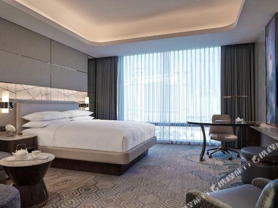 澳門JW萬豪酒店(JW Marriott Hotel Macau)豪華大床客房