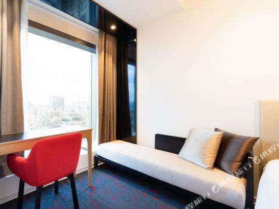 台北凱達大飯店(Caesar Metro Taipei)豪華雙床房