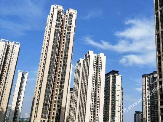 斯維登服務公寓(廣州琶洲國際會展門店)(Sweetome Vacation Rentals (Guangzhou Pazhou International Convention and Exhibition Center))眺望遠景