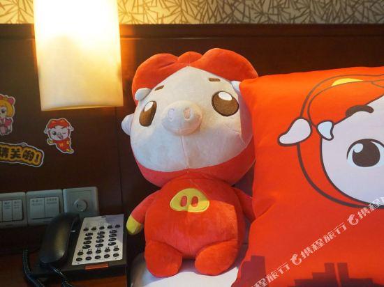 溧陽天目湖御水温泉度假酒店(Yu Shui Hot Spring Hotel)豬豬俠酷芽親子大床房